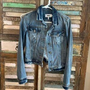 Paige Vermont Cropped Denim Jacket